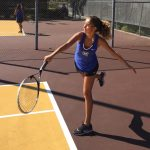 Girls Varsity Tennis beats Don Lugo 13 – 5 to earn the 'Milk Gallon'