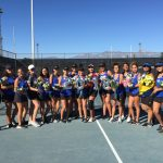 Girls Varsity Tennis falls to Montclair 15 – 3