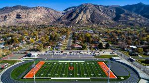 Stadium Drone Pictures