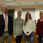 Alexis Petersen and Abigail Anderson named Academic All-State