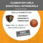 Girls Basketball Intramurals at OHS