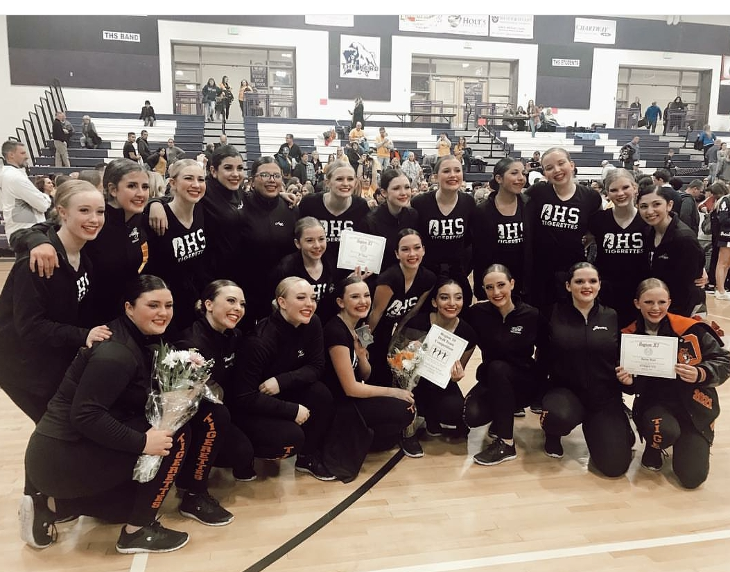 Tigerettes Compete at State!