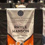 Congratulations, Rhyle Hanson!