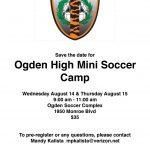 OHS Mini Soccer Camp