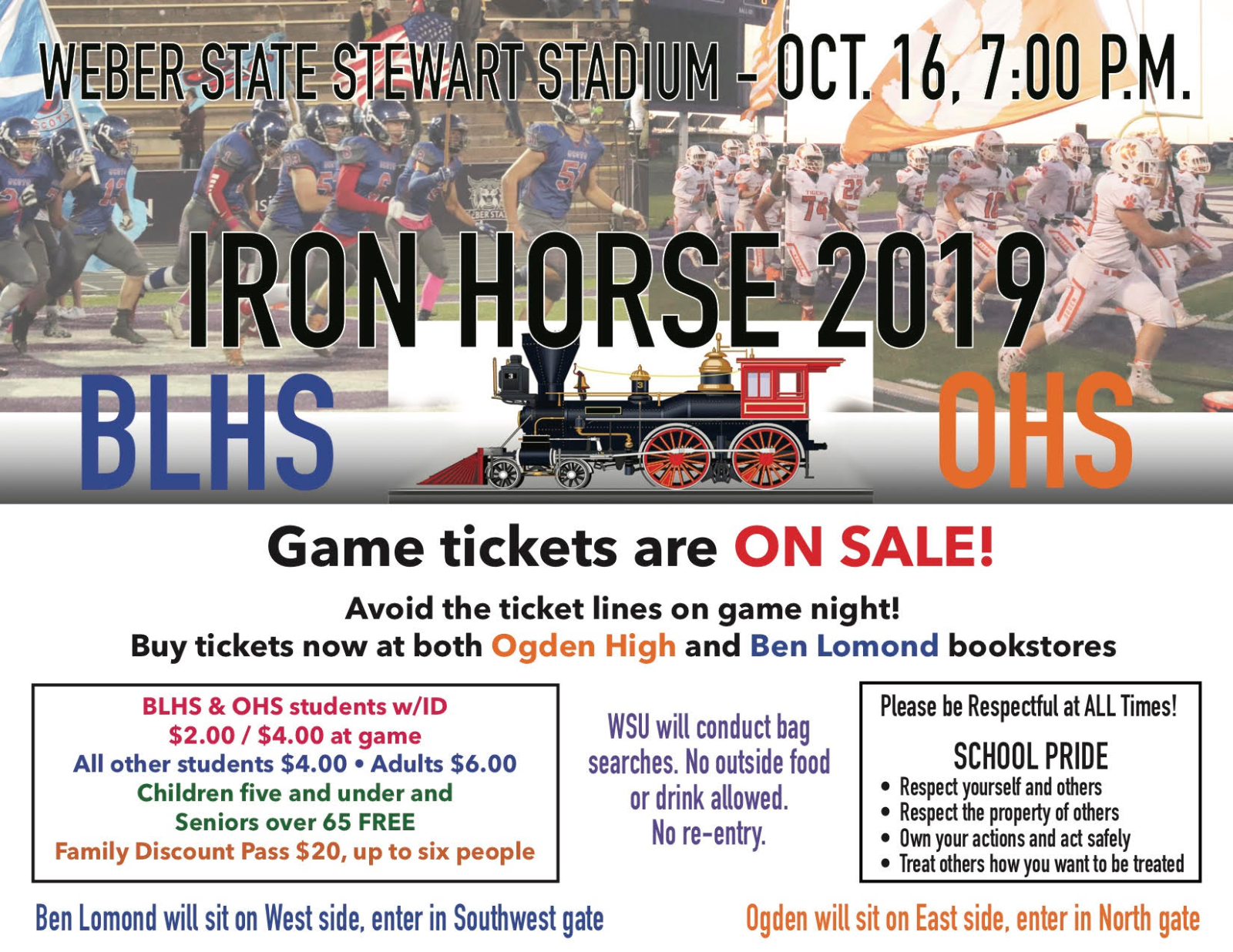 Iron Horse Tickets on Sale Now!
