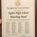 Ogden City Council honors OHS Band