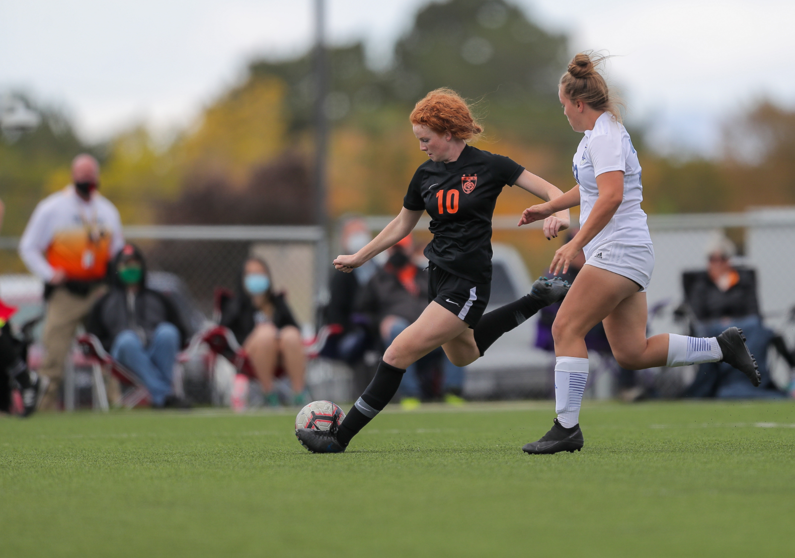 Ogden Girls Soccer vs. Dixie (Playoff Game 2020) (Photo Credit – Robert Casey)