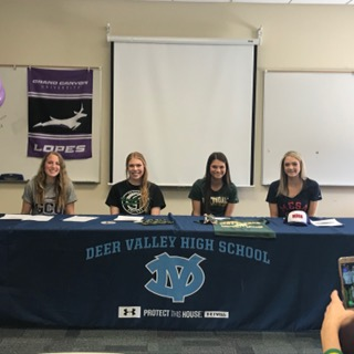Congratulations to Our Athletes Signing Letters of Intent!