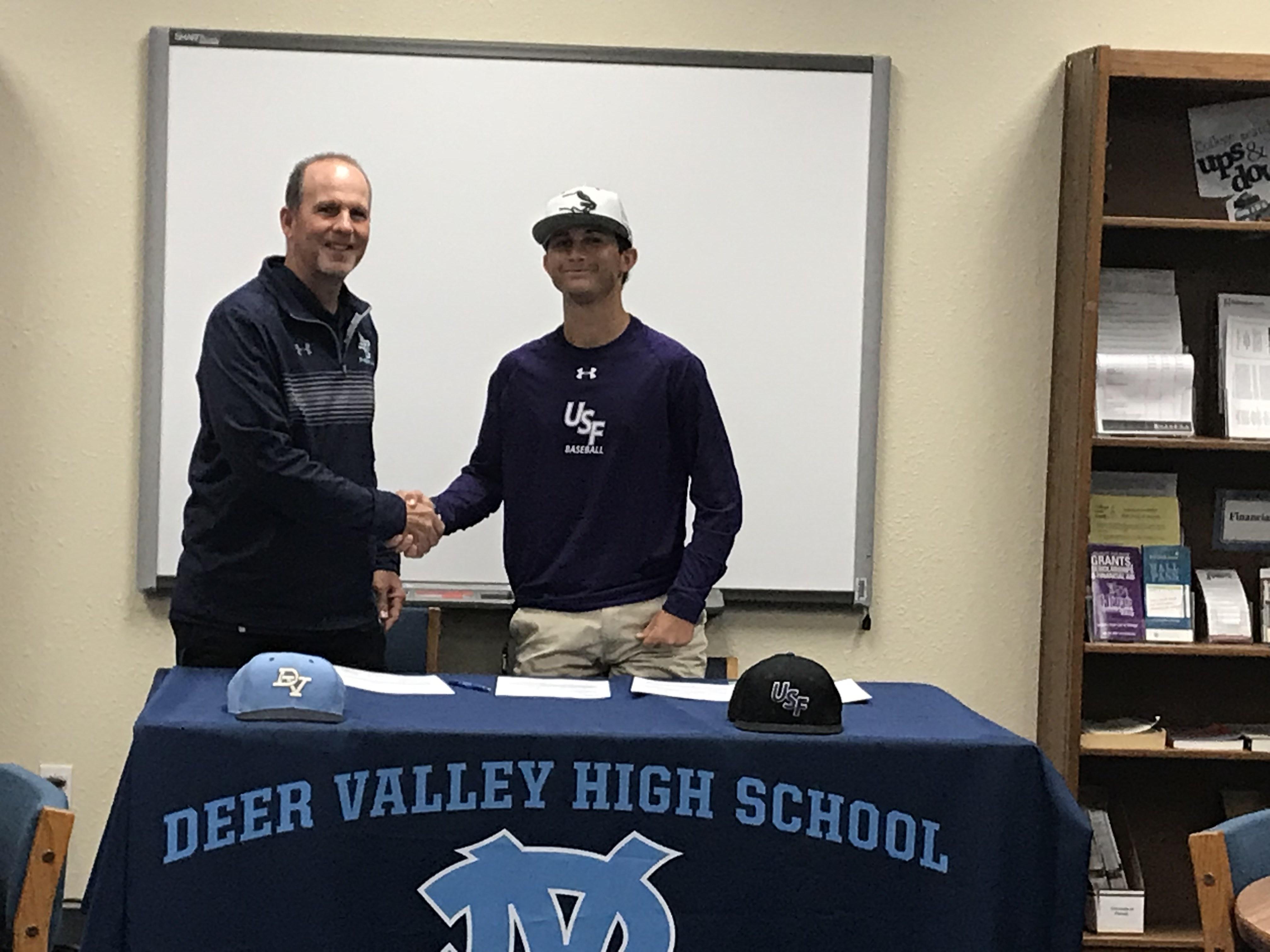 Congratulations to Baseball Player Dylan Scherbing!