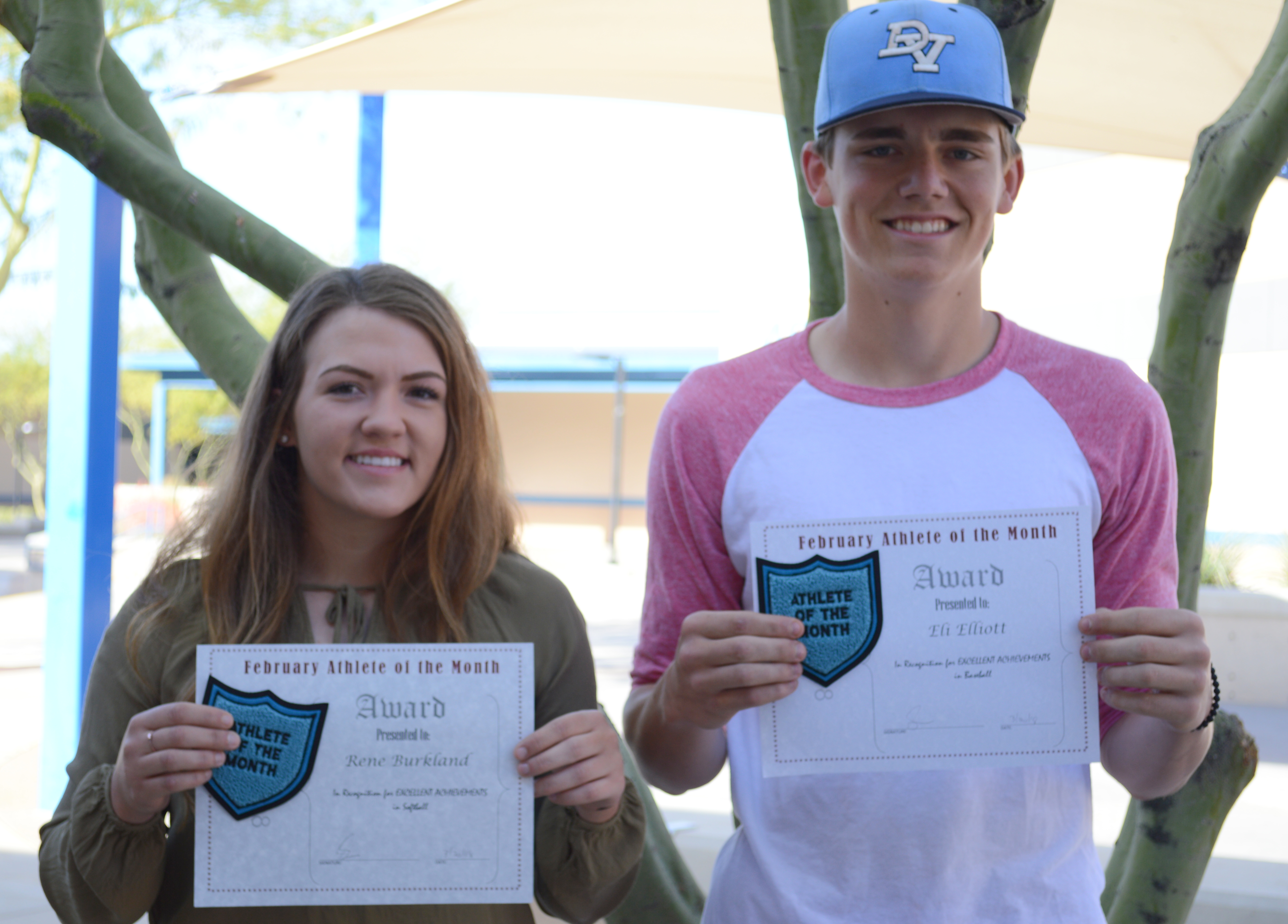 Congratulations February Athletes of the Month!