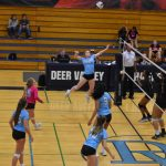 DV Girls Varsity Volleyball sweeps Desert Edge 3-0
