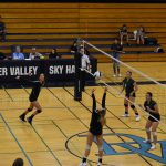 DV Girls Varsity Volleyball sweeps Peoria 3-0