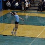 Girls Varsity Volleyball sweeps Cactus to remain unbeaten in Region