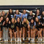 Girls Varsity Volleyball sweeps Desert Edge 3-0 to win the 4A West Valley Region Championship
