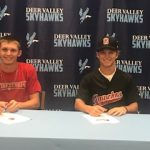 Baseball Players Dominick Vest and Logan Livingston Sign Letter of Intent!