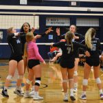 DV Girls Varsity Volleyball defeats Apache Junction 3-0 in season opener