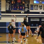 DV Girls Varsity Volleyball takes down the defending 4A State Champs!!!