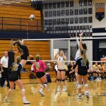 DV Girls Varsity Volleyball sweeps District rival, Barry Goldwater