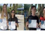 Congratulations August Athletes of the Month!