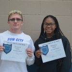 Nicholas Olson & Savannah Turner named February Athletes of the Month