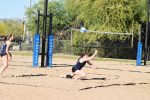 Deer Valley Beach Volleyball Sweeps Combs 5-0