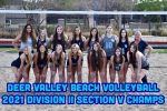 DV Beach Volleyball Sweeps Trivium Prep to win the Division II Section V Championship