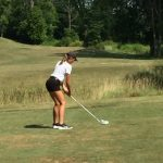 Raider Girls Golf at Monroe Central Invitational