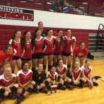 Volleyball Raiders Win 2016 WHS Invitational