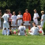 Boys Soccer Lose at Anderson