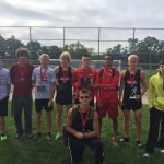 Boys XC 2nd at New Haven