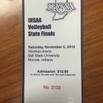 VB State Finals On Sale @ WHS