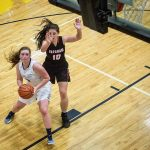 Girls Basketball Travel to East Central Tourney