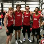 Track Competes at IWU Indoors