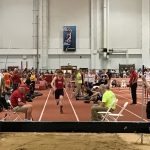 Stevens Competes at IU Indoor State