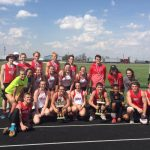 Track Teams Win at Wes-Del