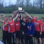 Boys Track Win MEC; Girls Finish 2nd