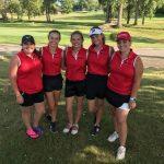Girls Golf 2nd at DCAA