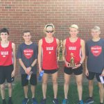 Boys XC 5th at Leffler Invite