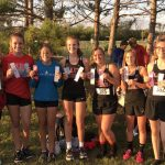 Girls XC 5th at Muncie Invite