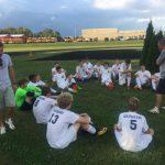Boys Soccer Tie Blackford 1-1