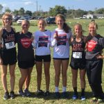 Girls XC 6th at Sectional; Neal and Wulff Move on