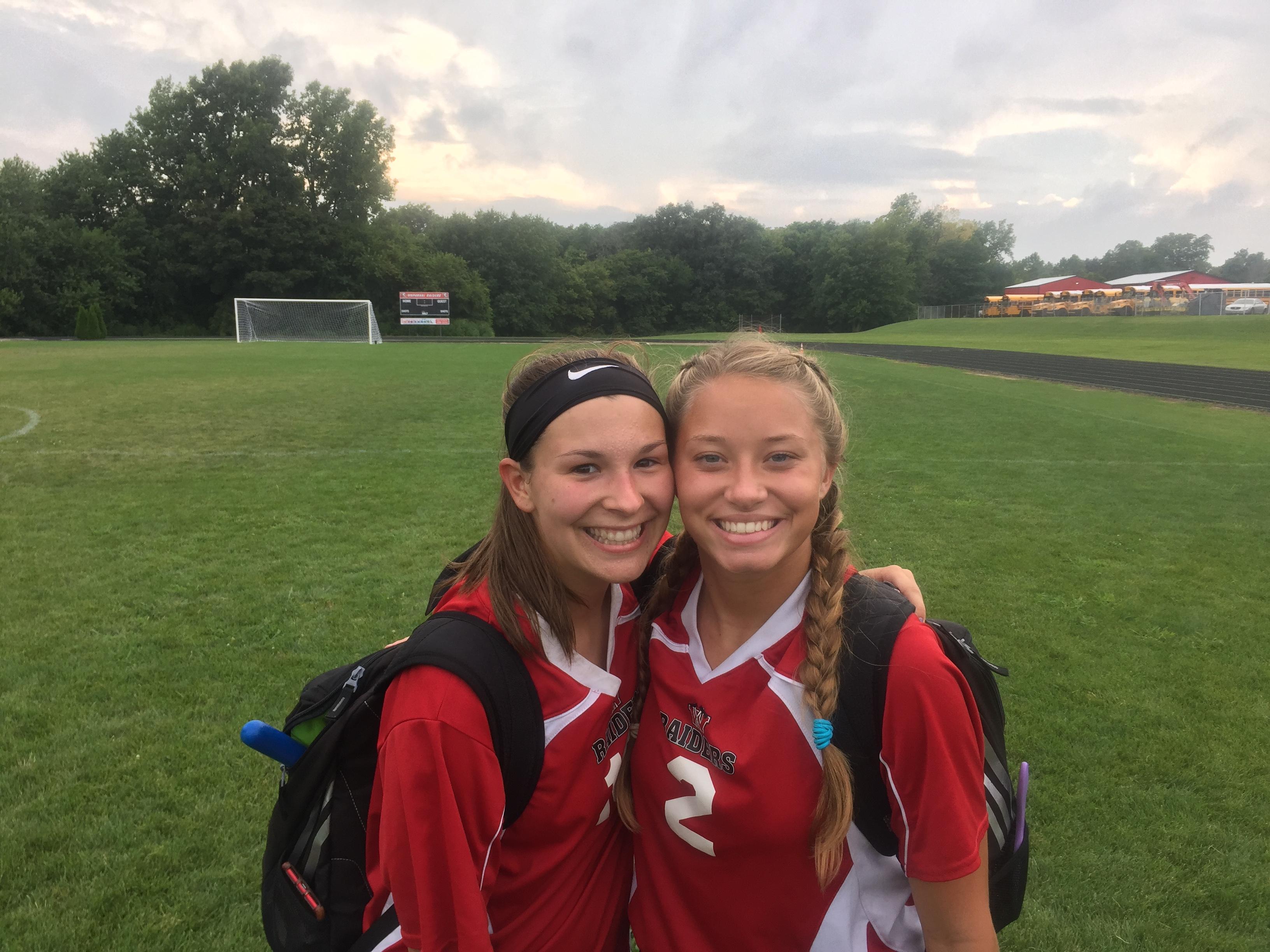 Raider Girls Win; Dornick Scores 4 Goals