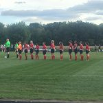 Girls' Soccer Ties on Senior Night