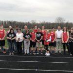 Boys Track Wins on Senior Night