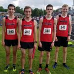 4×800 Finishes Strong at IHSAA Track Regional; Great Season Raiders
