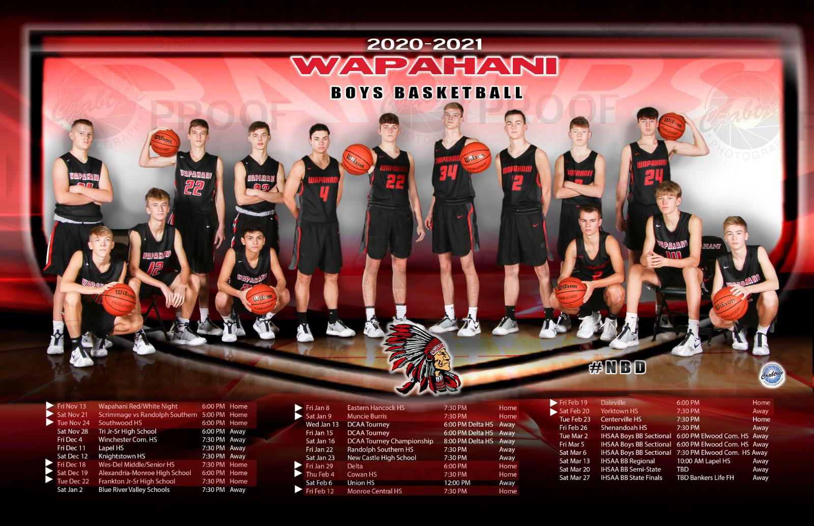 Good Luck Boys JV & Varsity BB Teams Tonight at Shenandoah; Tickets Available Online