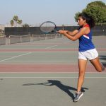 John Glenn High School Girls Varsity Tennis beat Mayfair High School 15-3