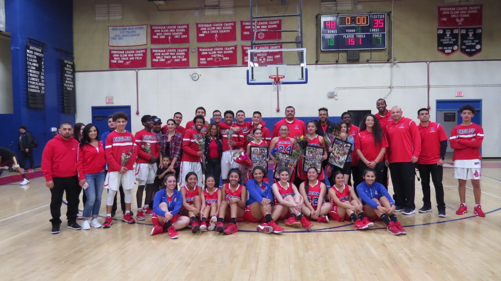 Varsity Basketball Season Ends