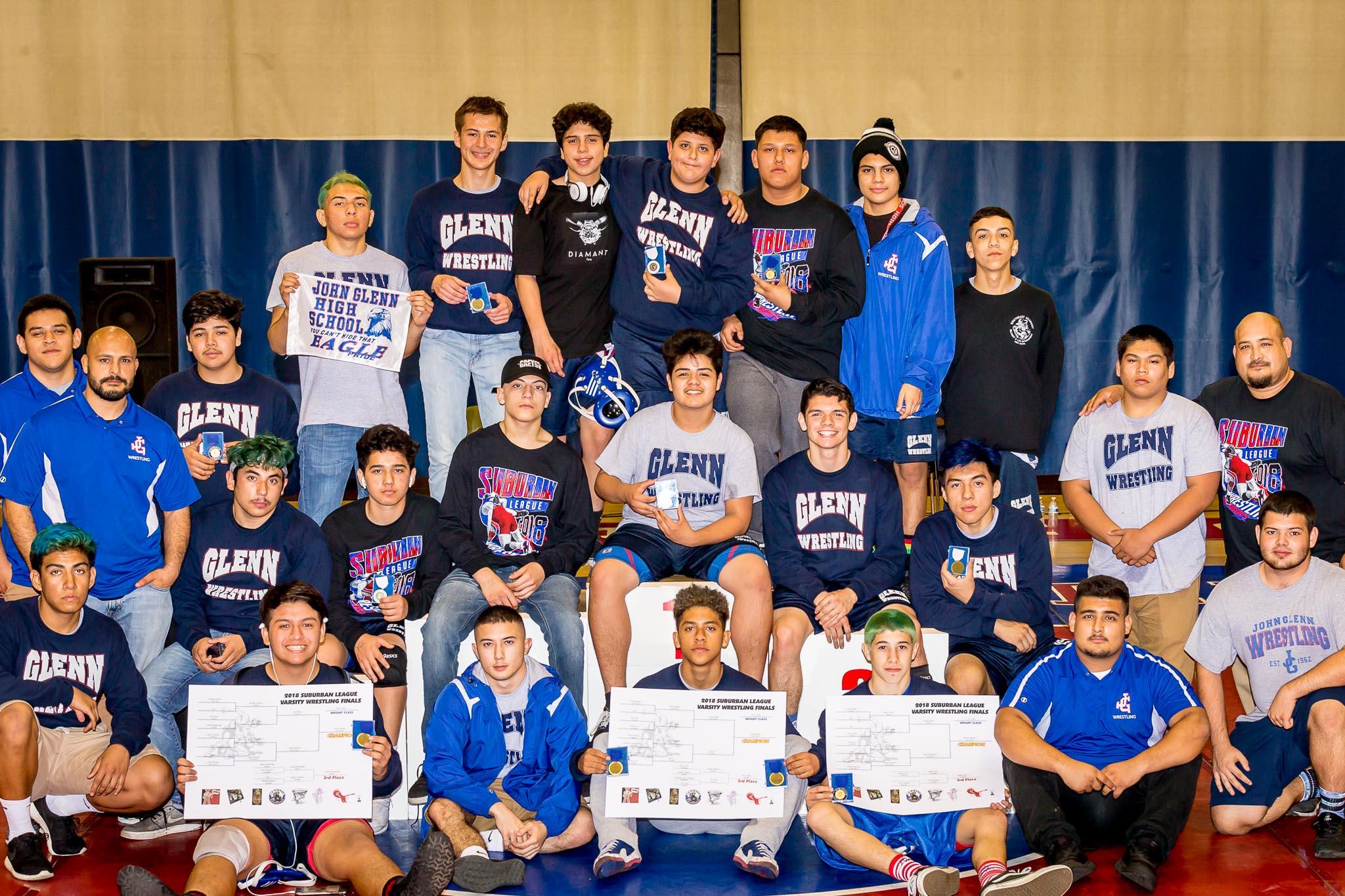 Boys Varsity Wrestling Finals