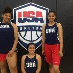 Girls Participate at Team USA Skills Camp